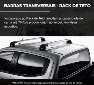 BARRAS TRANSVERSAIS - RACK TETO