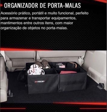 galeria ORGANIZADOR DE PORTA-MALAS - PRÁTICO -