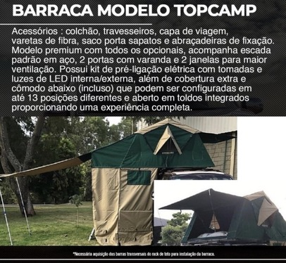 galeria BARRACA MODELO TOPCAMP