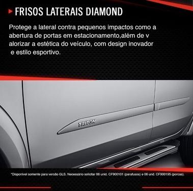 galeria FRISOS LATERAIS DIAMOND L200 TRITON SPORT