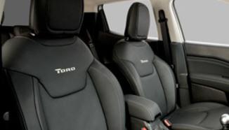Revestimento em couro para bancos Fiat Toro