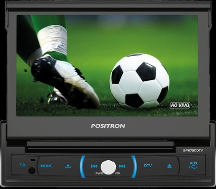 galeria AUTO RADIO DVD PLAYER SP6730 DTV POSITRON