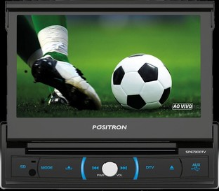 AUTO RADIO DVD PLAYER SP6730 DTV POSITRON