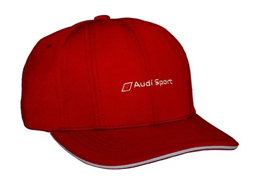 galeria Boné Track Audi Sport - Vermelho