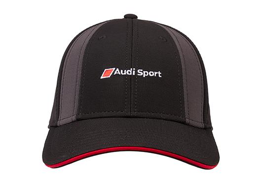 galeria Boné Track Audi Sport - Preto