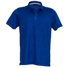 Camisa Polo Style Rings - Azul