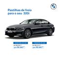 PASTILHAS DE FREIO DIANTEIRA 320i