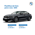 PASTILHAS DE FREIO TRASEIRA 320i