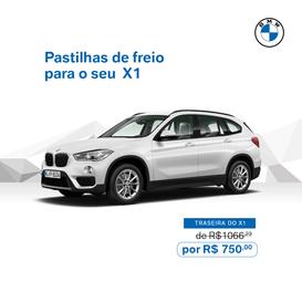 PASTILHAS DE FREIO X1
