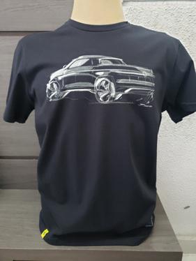 galeria Camiseta Black Tee Pick Up Tamanho M Vw APR057005ND