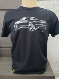 Camiseta Black Tee Pick Up Tamanho M Vw APR057005ND
