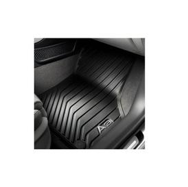 1 Jogo de Tapetes de Borracha Dianteiro Audi A3