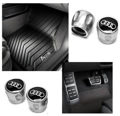 galeria Kit Básico Audi A3 (Jg de Tapetes, Jg de Pedaleira e Capa de Válvula)