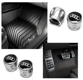 Kit Básico Audi A3 (Jg de Tapetes, Jg de Pedaleira e Capa de Válvula)