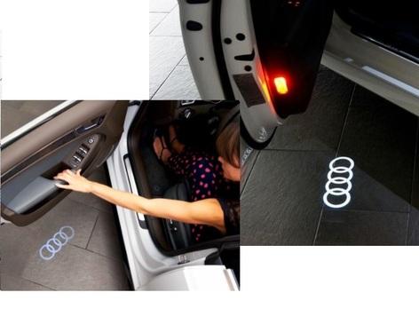 galeria 2 Jogos de Audi Beam (4 leds para 4 portas)