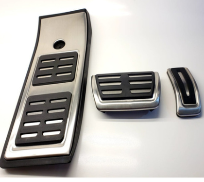 galeria Pedaleira em Aço Escovado Audi Q5