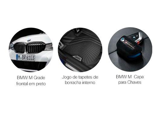 galeria KIT BMW ACESSÓRIOS ORIGINAIS DO 320