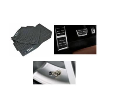 galeria Kit Básico Audi Q5 (Jg de Tapetes, Jg de Pedaleira e Capa de Válvula)