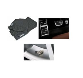 Kit Básico Audi Q5 (Jg de Tapetes, Jg de Pedaleira e Capa de Válvula)