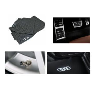 galeria Kit Intermediário Audi Q5 (Jg de Tapetes, Jg de Pedaleira, Capa de Válvula e Audi Beam)