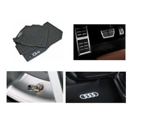 Kit Intermediário Audi Q5 (Jg de Tapetes, Jg de Pedaleira, Capa de Válvula e Audi Beam)