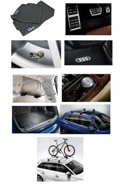 galeria Kit Sport Audi Q5 (Jg de Tapetes, Jg de Pedaleira, Capa de Válvula, Audi Beam, Cabide, Cinzeiro, Protetor do Porta Malas, Rack de Teto e Suporte de Bike)