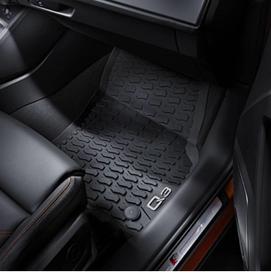 1 Jogo de Tapetes de Borracha Dianteiro Audi Q3