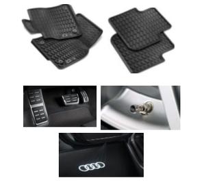 Kit Intermediário Audi Q3 (Jg de Tapetes, Jg de Pedaleira, Capa de Válvula e Audi Beam)