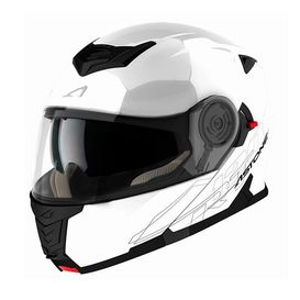 Capacete Astone RT1200 Pearl White