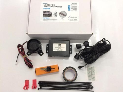 galeria Kit Sensor de Estacionamento - Novo Polo / Virtus / T-Cross / Gol / Fox / Spacefox / Voyage / Polo Antigo / Saveiro / Up! - Cód. V04010020 - Original Volkswagen