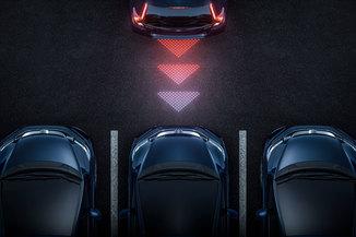 Sensor de estacionamento traseiro Civic G10