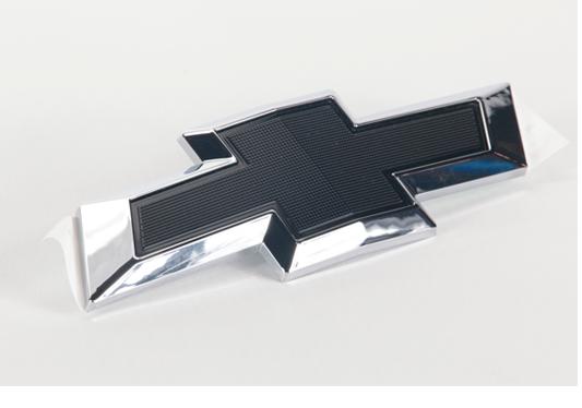 galeria Gravata Chevrolet Preta (Black Bow Tie) Traseira para Joy Plus e Prisma