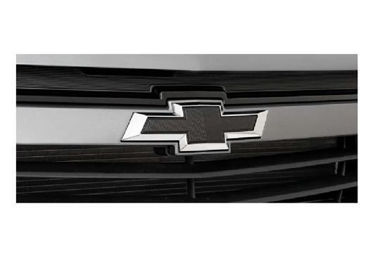 galeria Gravata Chevrolet Preta (Black Bow Tie) Frontal para Joy, Onix e Prisma