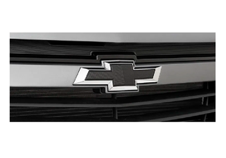 Gravata Chevrolet Preta (Black Bow Tie) Frontal para Joy, Onix e Prisma