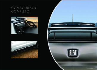 Combo Black Toro - Santantonio + Estribos Laterais + Barra Seg.Vidro Traseiro