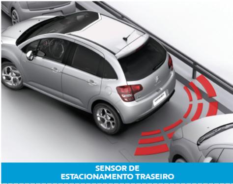 galeria Sensor de Obstaculo Traseiro - C3