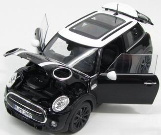 Miniatura Mini Cooper S Serie f56 escala 1/18