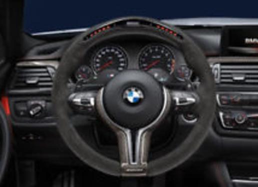 galeria BMW M Performance volante race c/display F30 Série 3