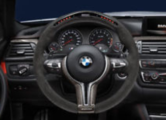 BMW M Performance volante race c/display F30 Série 3