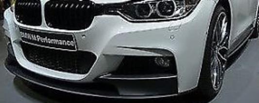 galeria BMW M Performance aplicação frontal F30 Série 3