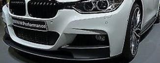 BMW M Performance aplicação frontal F30 Série 3