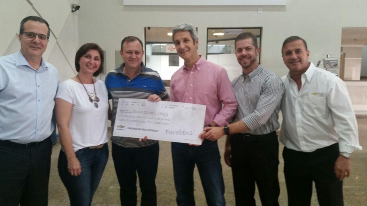 Primeiros ganhadores de cheque de R$ 15.000,00 (Prêmio extra)