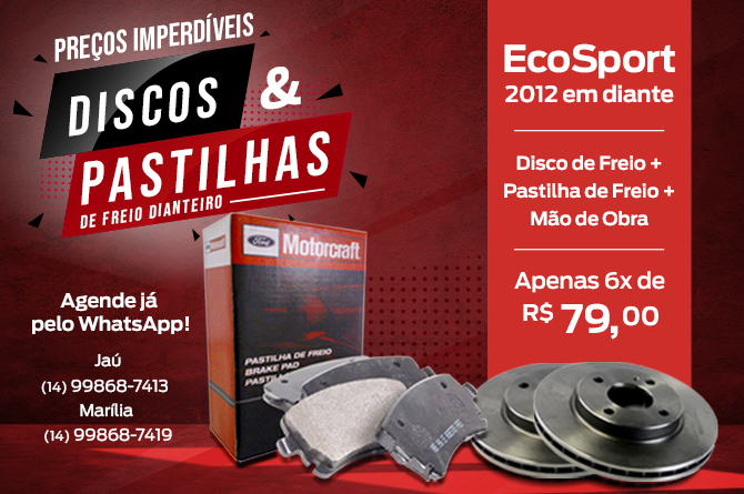 Discos e Pastilhas Ecoport