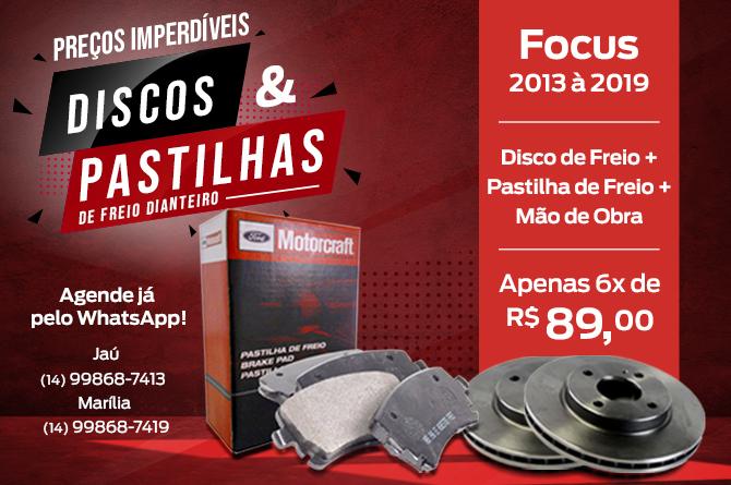 Discos e Pastilhas Focus