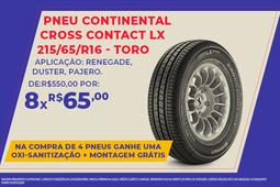 PNEU CONTINENTAL CROSS CONTACT LX 215/65/R16-