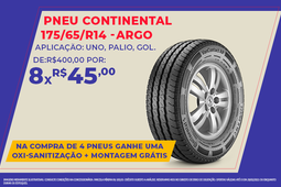 PNEU CONTINENTAL 175/70/R14- STRADA