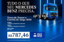 TROCA DE TENSOR E CORREIA | ATEGO 3030 |