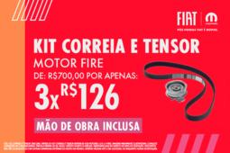 KIT CORREIA E TENSOR- MOTOR FIRE