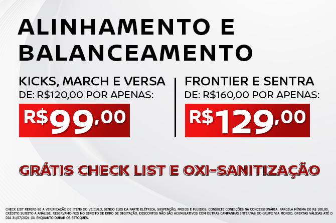ALINHAMENTO E BALANCEAMENTO