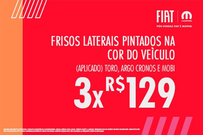 FRISOS LATERAIS PINTADOS
